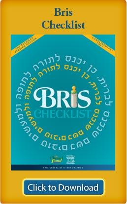 Bris Checklist