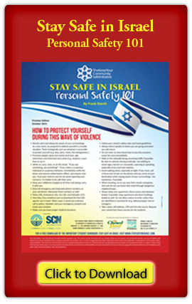 Personal Safety In Israel